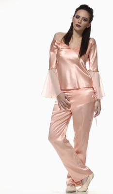 Calla - Long Satin Sleepwear